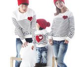 Family Matching Clothing Soft Cotton Shirt Matching Mother Daughter Clothes Family Look Style Father Mother Son KU849-Dollar Bargains Online Shopping Australia