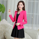 Spring Women Slim Blazer Coat New Fashion Casual Jacket Long Sleeve One Button Suit Ladies Blazers Work Wear BN1005BN-Dollar Bargains Online Shopping Australia