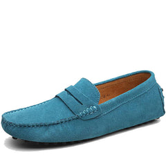 Brand Fashion Summer Style Soft Moccasins Men Loafers High Quality Genuine Leather Shoes Men Flats Gommino Driving Shoes-Dollar Bargains Online Shopping Australia