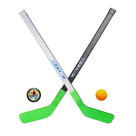 4pcs/sets Kids Child Winter Ice Hockey Stick Training Tools Plastic 2xSticks 2xBall Winter Sports Toy fits for 3-6years-Dollar Bargains Online Shopping Australia