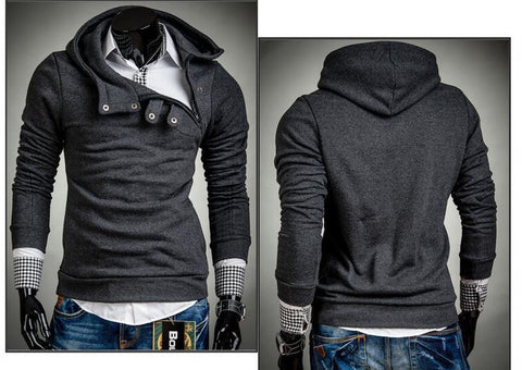 2016 Hoodies Men Sudaderas Hombre Hip Hop Mens Brand 7 Color Stitching Hedging Hoodie Sweatshirt Suit Slim Fit Men Hoody - Dollar Bargains - 7