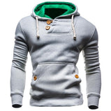 Hoodies Men Hip Hop Mens Brand Double Pocket Long Sleeve Hoodie Sweatshirt Suit Slim Fit Men Hoody-Dollar Bargains Online Shopping Australia