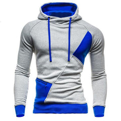 Hoodies Men Sudaderas Hombre Hip Hop Mens Brand Letter Hooded Zipper Hoodie Sweatshirt Slim Fit Men Hoody XXL WE-Dollar Bargains Online Shopping Australia