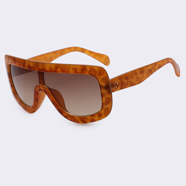 79cf15c3e8 WINLA Newest Unique Women Sunglasses Square Glasses Vintage Big Frame Sun  Glasses Acetate Shades Gradient Eyeglasses