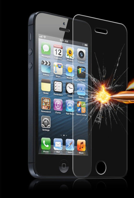 For iPhone 4 4sTempered Glass Screen Film For Apple iphone 4 4s 5 5s 5c SE 6s 6 7 Plus 7Plus Film Clear Protect Slim Shockproof Explosion-proof