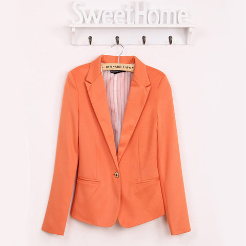 Lowest Fall Promotion  blazer women suit blazer foldable brand jacket  spandex with lining Vogue refresh blazers Free shipping - Dollar Bargains - 8