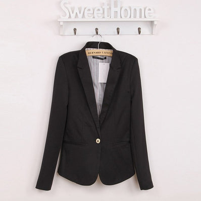NEW blazer women suit blazer foldable brand jacket made of cotton & spandex with lining Vogue refresh blazers - Dollar Bargains - 2