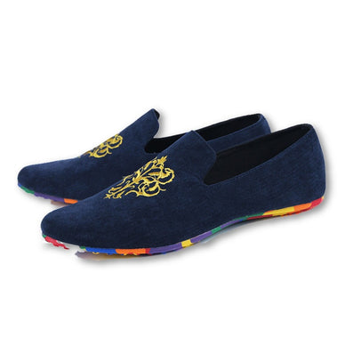 2015 men fashion slip-on Totem Printing flats shoes Nubuck Leather driving shoes men moccasins male boat loafers - Dollar Bargains - 4
