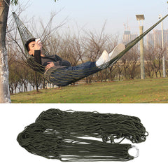 1Pc sleeping hammock hamaca hamac Portable Garden Outdoor Camping Travel furniture Mesh Hammock swing Sleeping Bed Nylon HangNet-Dollar Bargains Online Shopping Australia