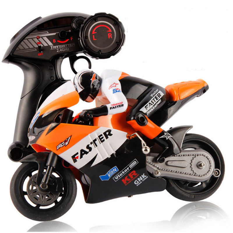 RC Motorcycle Toys For Kids New Style Plastic 4 Channel With Light ...
