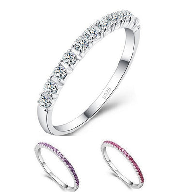 Wedding Rings for Women Topaze Mystique Girls Purple Red Simulated Diamond Ring Cool Jewelry Anillos Anel Sale J029-Dollar Bargains Online Shopping Australia