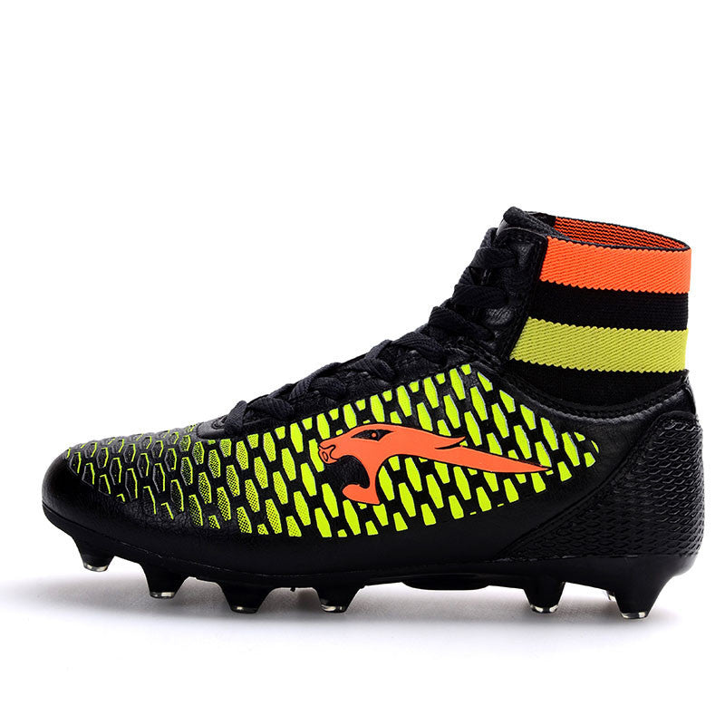 finest selection 3e11e 61fdf Adult high ankle soccer shoes men football boots kids botas de futbol New  superfly soccer cleats boots Size 33-44