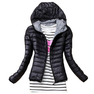 Fashion Parkas Winter Female Down Jacket Women Clothing Winter Coat Color Overcoat Women Jacket Parka-Dollar Bargains Online Shopping Australia
