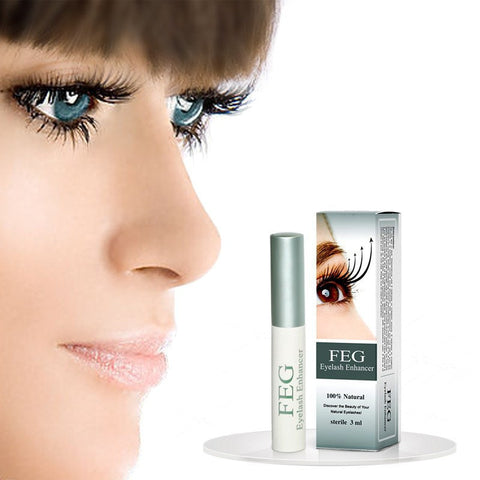 2015 New FEG Chinese Herbal Powerful Makeup Eyelash Growth Treatments Liquid Serum Enhancer Eye Lash Longer Thicker# M01542 - Dollar Bargains - 1