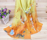 New 2016 Fashion Soft Thin Chiffon Silk Scarf Women Animal Bird printed Scarves Foulard Sjaal Cachecol Feminino - Dollar Bargains - 7
