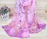 New 2016 Fashion Soft Thin Chiffon Silk Scarf Women Animal Bird printed Scarves Foulard Sjaal Cachecol Feminino - Dollar Bargains - 3