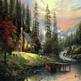 Wall Landscape Oil Painting By Numbers Home Pictures Canvas Oil Painting Coloring By Number-Dollar Bargains Online Shopping Australia