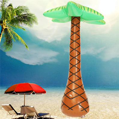 1pcs New Funny Inflatable Hawaiian Tree Large Inflatable for Palm Tree Jungle Toy For Hawaiian Summer Beach Party Decoration - Dollar Bargains
