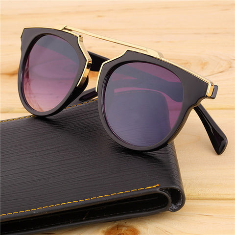 Super Star Fashion Sunglass 2016 new cat eye coating sunglasses women brand designer vintage sun glasses for men oculos de sol - Dollar Bargains - 6