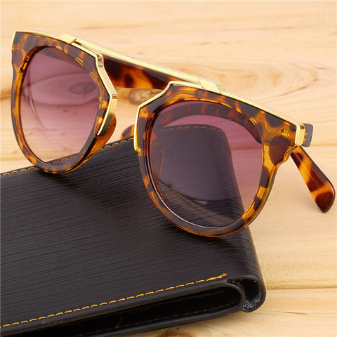 Super Star Fashion Sunglass 2016 new cat eye coating sunglasses women brand designer vintage sun glasses for men oculos de sol - Dollar Bargains - 2