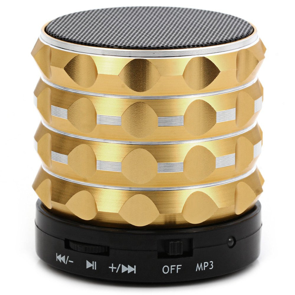 GoldenNewest K2 Mini Wireless Bluetooth Speaker Super Bass Loudspeakers Support TF Card FM Radio For IOS Android Mobile Phone Altavoz