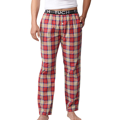 Pyjama Pants Men Underwear Trousers Plaid Mens Lounge Pants Pantalon Piyamas Jovenes Pijama Gootuch 2505-Dollar Bargains Online Shopping Australia