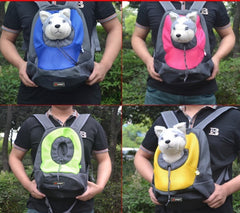 Pet Carrier Dog Carrier Pet Backpack Bag Portable Travel Bag Pet Dog Front Bag Mesh Backpack Head Out Double Shoulder Outdoor-Dollar Bargains Online Shopping Australia