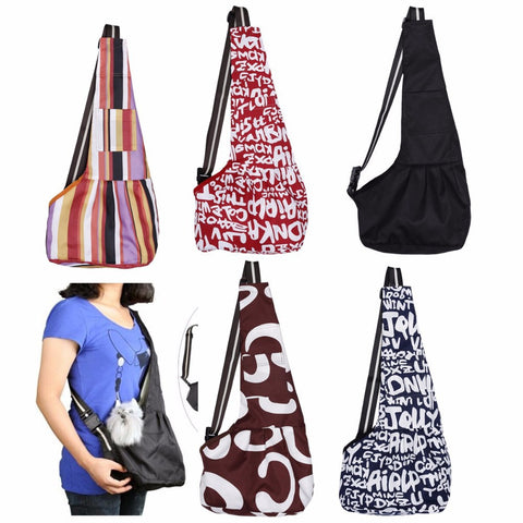 Pet Carrier Bag Oxford Cloth Dog Cat Carrier Single Shoulder Bag Warm Winter Dog Front Chest Carrier - Dollar Bargains - 1