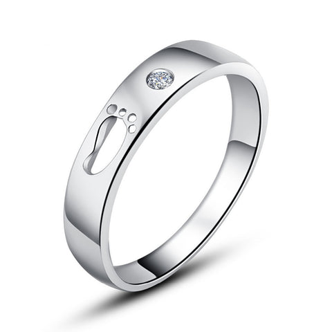 ADTL Love Infinite Solid Genuine 925 Sterling Silver Rings For women Engagement Wedding Bands Promise Ring Bridal Fine Jewelry-Dollar Bargains Online Shopping Australia