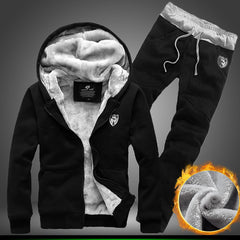Hoody Svitshot Men's Sportswear Casual Suit Hoodies Men Hip Hop Zipper Streetwear Pants Street Sweatshirts Hoodie Tracksuit-Dollar Bargains Online Shopping Australia