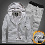 2016 Hoody Svitshot Men's Sportswear Casual Suit Hoodies Men Hip Hop Zipper Streetwear Pants Street Sweatshirts Hoodie Tracksuit - Dollar Bargains - 5