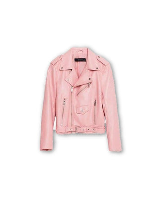 Fashion Women Leather Jacket And The Wind Zipper Bright New Ladies Leather Coat Jacket Women-Dollar Bargains Online Shopping Australia