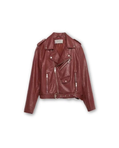 2016 Mujer fashion Women Leather Jacket And The Wind Zipper Bright New Ladies Leather Coat Jacket Women - Dollar Bargains - 2