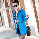 New Wadded Jacket Female Women Winter Jacket Down Cotton Coat Slim Parkas Ladies Plus Size Womens Jackets And Coats C2262-Dollar Bargains Online Shopping Australia