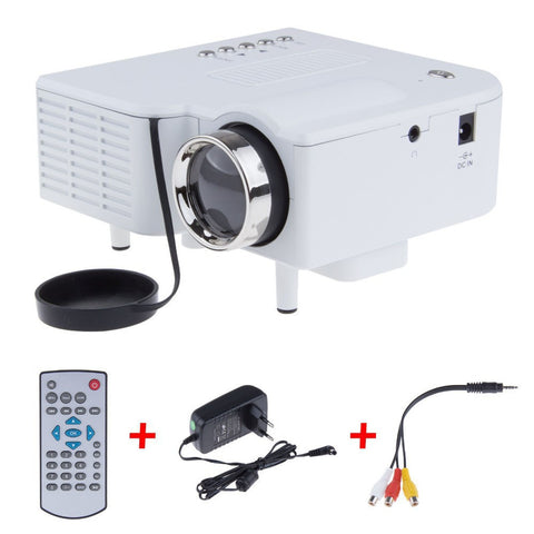 UC28 Mini LED Digital Video Game Projectors Multimedia player Inputs AV VGA USB SD HDMI proyector Built-in Speaker data show-Dollar Bargains Online Shopping Australia