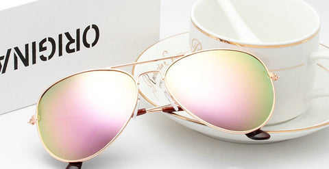New arrival Fashion brand men and women Sunglasses not fade Alloy Frame Pilot UV400 Anti-Reflective Sun glasses 3027-Dollar Bargains Online Shopping Australia