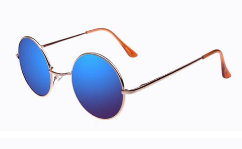 Vintage Steampunk Sunglasses Round Designer Steam Punk Metal Oculos de sol masculino Women Coating Men Retro Sun glasses YJ129 - Dollar Bargains - 3