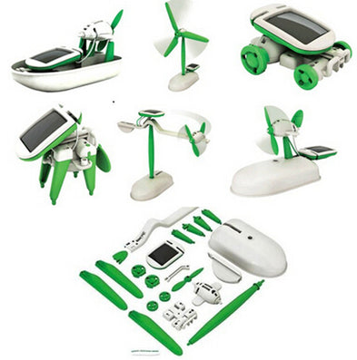 One Pack Can DIY 6 Kinds Magic Mini Plastic Solar Energy Powered EducationToys Best Gift Electric robots Toys For chidren Kids-Dollar Bargains Online Shopping Australia