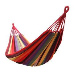 Outdoor Fun Sports Toy Swings Outdoor Leisure Hammock Indoor Swing 1.85m*0.8m Canvas Give Rope Load 200KG-Dollar Bargains Online Shopping Australia