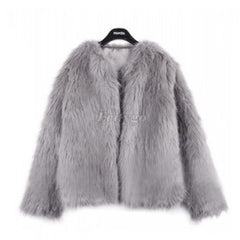 New Winter Women Warm Faux Fur Coat Women Vintage Mink Fox Jacket 10 Colors Size S M L XL-Dollar Bargains Online Shopping Australia