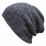 1PC Knit Men's Women's Baggy Beanie Oversize Winter Warm Hat Ski Slouchy Chic Crochet Knitted Cap Skull - Dollar Bargains - 4