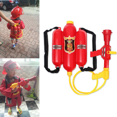 Child Fire Backpack Nozzle Water Gun Toy Air Pressure Water Gun Summer Beach ing-Dollar Bargains Online Shopping Australia