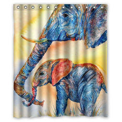 "Brand New Elephant custom Shower Curtain Bathroom decor 36x72"" 48x72"" 60x72"" 66x72""-Dollar Bargains Online Shopping Australia"