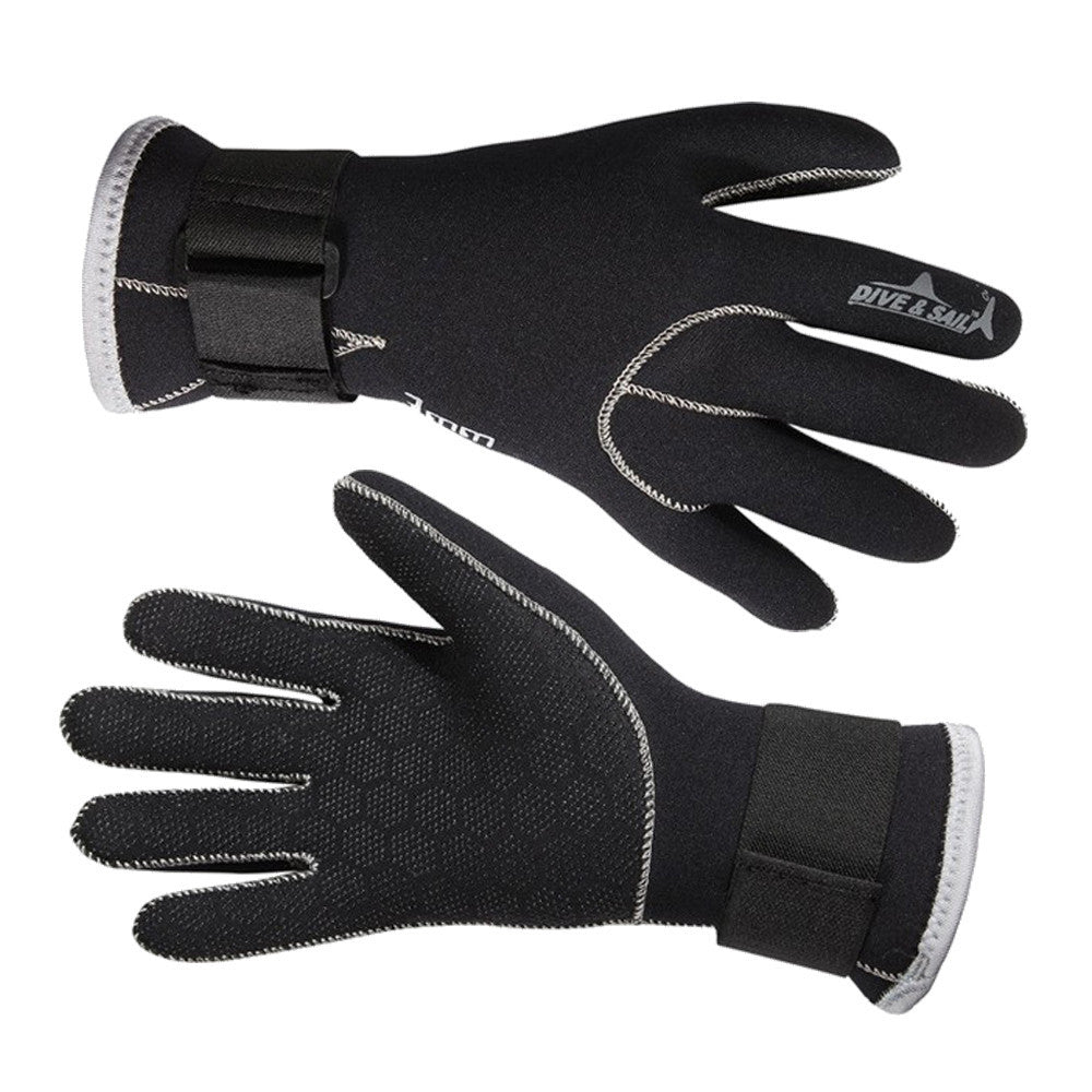 Black / SDive&Sail 3mm Neoprene Diving Gloves High Quality Gloves for Swimming Keep Warm Swimming Diving Equipment