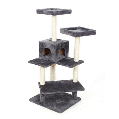 Domestic Delivery Scratching Wood Climbing Tree for Cat Cat Jumping Toy with Ladder Climbing Frame Cat Furniture Scratching Post-Dollar Bargains Online Shopping Australia