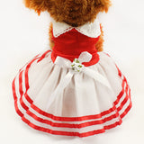 Tutu Lace Sailor Dog Dresses Stripes Skirt For Dogs Dress Pet Princess Clothing-Dollar Bargains Online Shopping Australia
