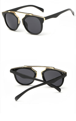 High women brand designer sunglasses round mirrored shades cat eye glasses-Dollar Bargains Online Shopping Australia
