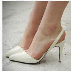 Sexy Point Toe Patent Leahter High Heels Pumps Shoes Newest Woman's Red Sandals Heels Shoes Wedding Shoes 9cm 35-41 Size-Dollar Bargains Online Shopping Australia