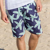 2014 new fashion beach shorts for women and men Black and white stripes shorts  K464 ,free shipping - Dollar Bargains - 20