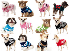 SZ XS-XXL Various Lovely Puppy Pet Cat Dog Sweater Knitted Coat Apparel Clothes for small dog Puppy-Dollar Bargains Online Shopping Australia